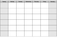 Print Blank Calendar Template Weekly Calendar Template Pictures At throughout Blank Activity Calendar Template