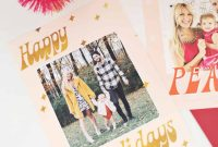 Print Your Own Holiday Cards Free Template Included  A Beautiful with Print Your Own Christmas Cards Templates