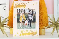 Print Your Own Holiday Cards Free Template Included  A Beautiful within Print Your Own Christmas Cards Templates