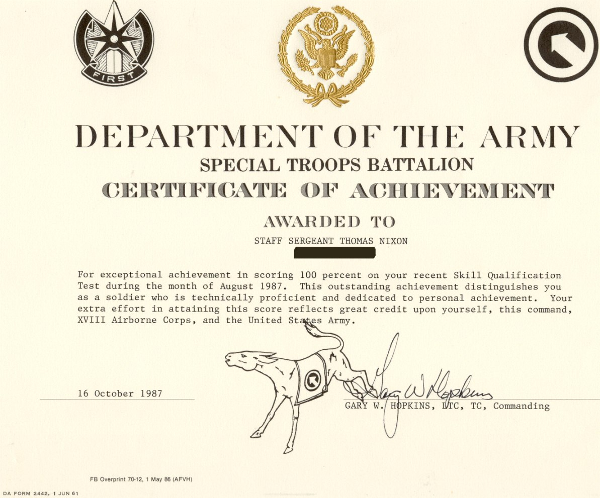 Printable Army Certificate Of Completion Template Hadipalmexco Army Intended For Certificate Of Achievement Army Template