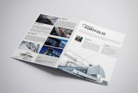 Printable Atchitectural Portfolio Brochure Template  Etsy for Architecture Brochure Templates Free Download