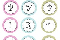 Printable Banners Templates Free  Print Your Own Birthday Banner throughout Printable Letter Templates For Banners