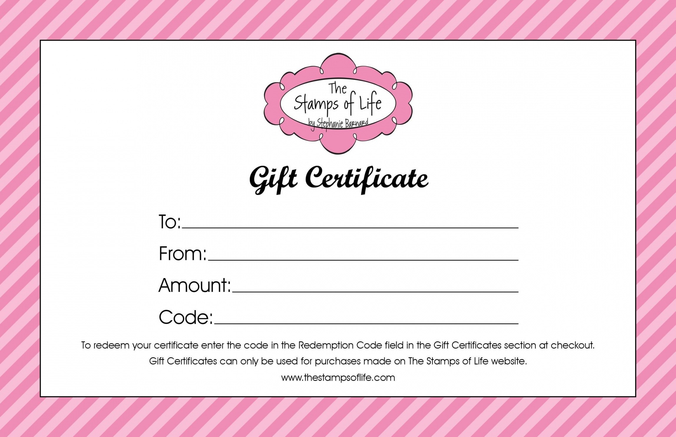 Printable Beauty Salon Gift Certificate Template Free Templates Hair Pertaining To Salon Gift Certificate Template