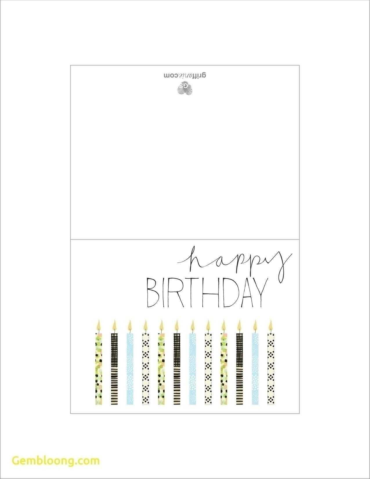 Printable Birthday Cards Foldable For Boys  Chart And Printable World Within Foldable Birthday Card Template