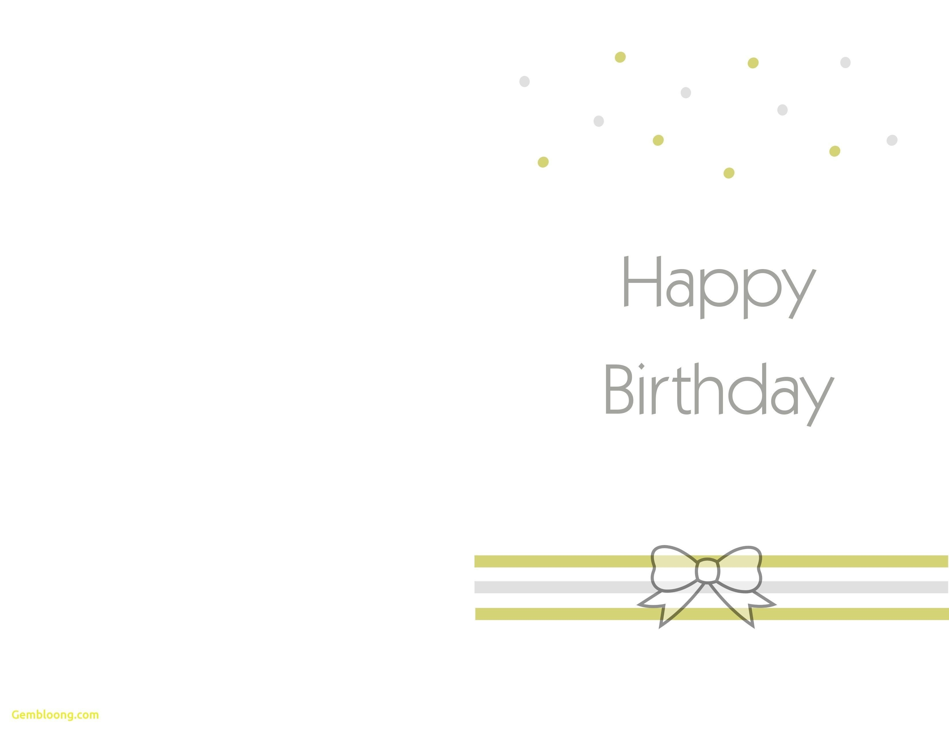 Printable Birthday Cards Foldable  Theveliger Pertaining To Foldable Birthday Card Template