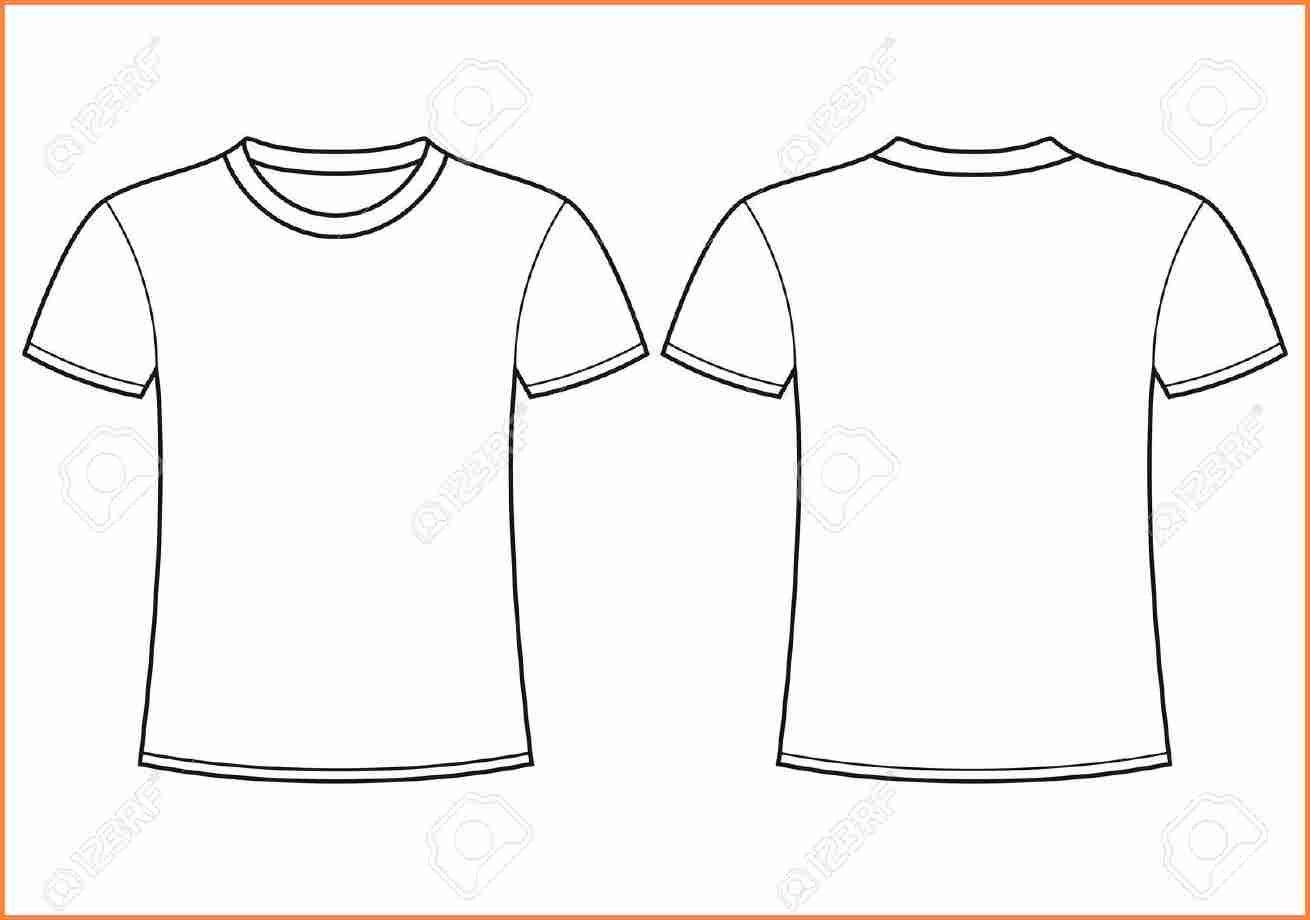 Printable Blank Tshirt Template  Azərbaycan Dillər Universiteti With Blank Tshirt Template Printable
