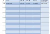 Printable Call Log Templates In Microsoft Word And Excel within Blank Call Sheet Template
