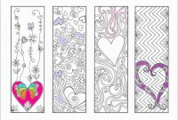 Printable Coloring Bookmarksf Lovely Blank Bookmark Template To regarding Free Blank Bookmark Templates To Print