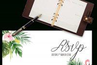 Printable Free Wedding Rsvp Template  Cards Microsoft Word in Free Printable Wedding Rsvp Card Templates