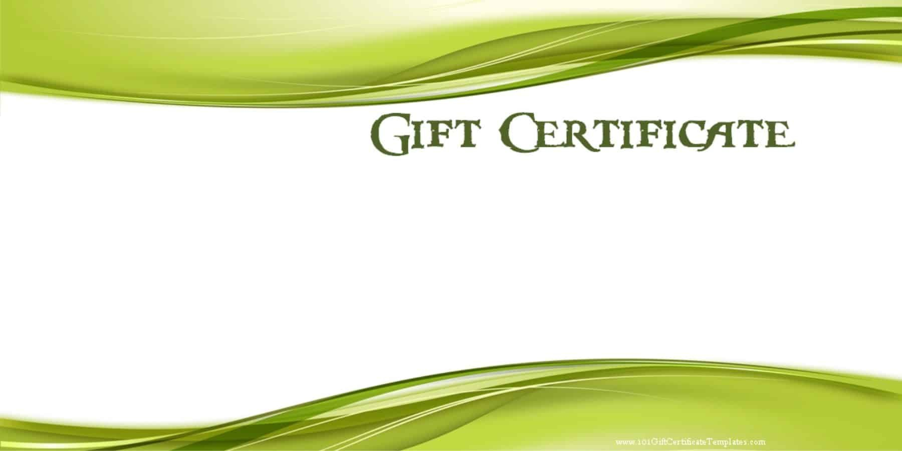 Printable Gift Certificate Templates With Dinner Certificate Template Free
