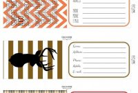 Printable Luggage Tags Holiday Travel Edition  Projects To Try with regard to Luggage Label Template Free Download
