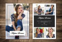 Printable Modeling Comp Card Template Fashion Model Comp  Etsy in Download Comp Card Template
