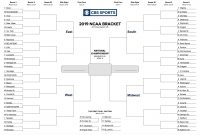 Printable Ncaa Tournament Bracket For March Madness pertaining to Blank March Madness Bracket Template