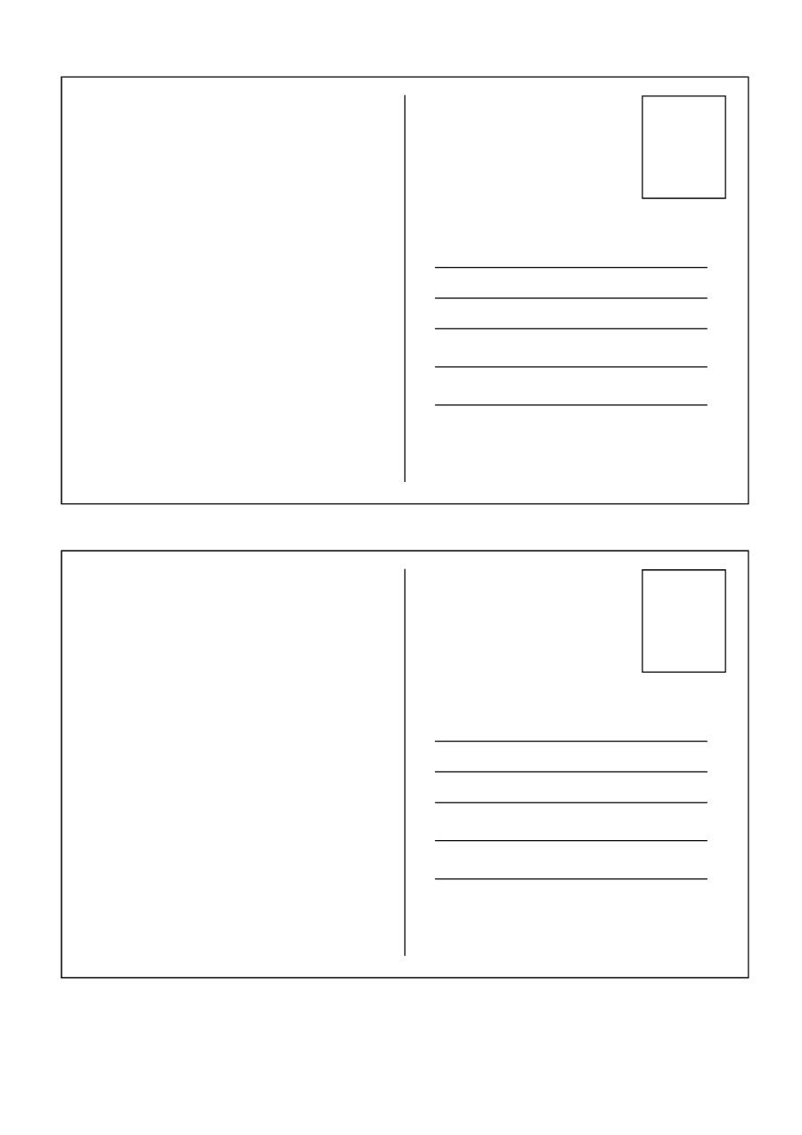 Printable Postcards Template  Ellipsis Pertaining To Post Cards Template