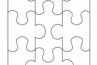 Printable Puzzle Piece Templates ᐅ Template Lab with Blank Jigsaw Piece Template