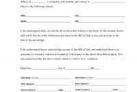 Printable Sample Bill Of Sale Templates Form  Forms And Template In inside Legal Bill Of Sale Template