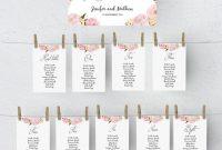 Printable Seating Chart Template Wedding Table Plan within Wedding Seating Chart Template Word