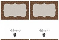 Printable Thanksgiving Place Cards  Chalkboard Sign   Magnolia inside Thanksgiving Place Card Templates