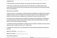 Printable Vehicle Purchase Agreement Templates ᐅ Template Lab for Free Business Transfer Agreement Template