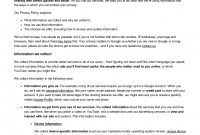 Privacy Policy Examples  Samples  Examples pertaining to Credit Card Privacy Policy Template