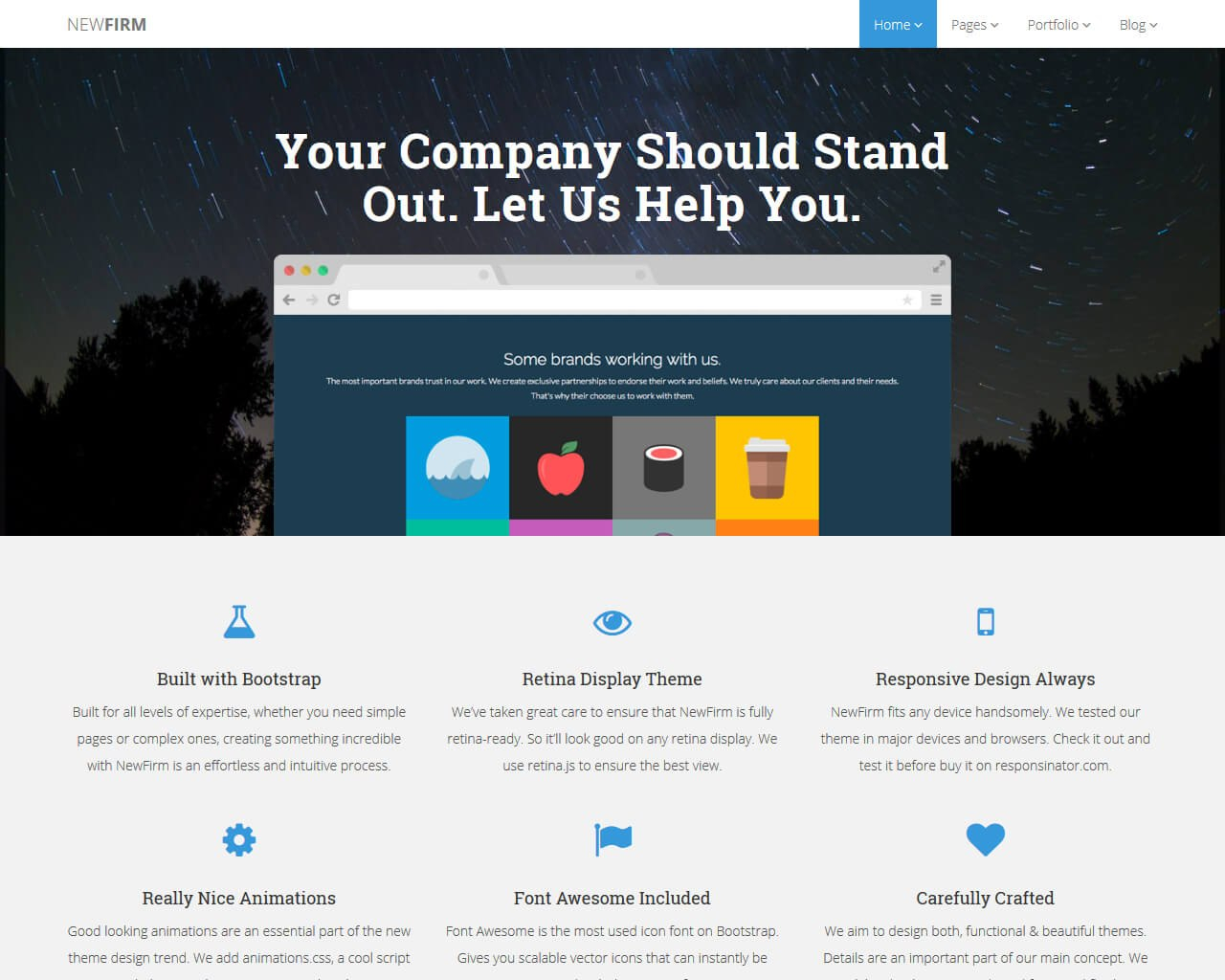 Pro Business Website Templates   Templatemag Within Bootstrap Templates For Business