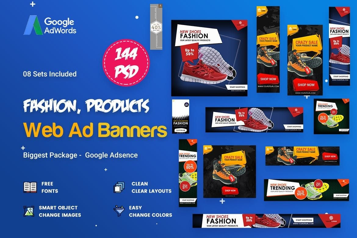 Product Banners Ads Template Psd  Web Banners  Ads  Banner Inside Product Banner Template
