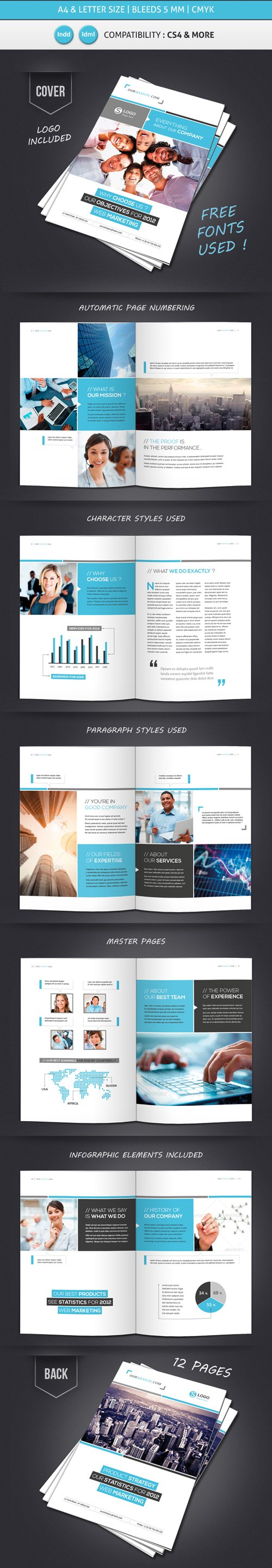 Professional Brochure Designs  Design  Graphic Design Junction regarding 12 Page Brochure Template