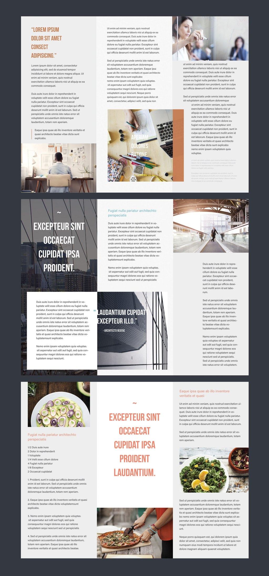 Professional Brochure Templates  Adobe Blog Intended For Illustrator Brochure Templates Free Download