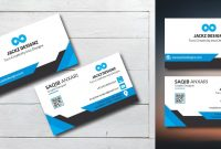 Professional Business Card Template  Codester pertaining to Professional Name Card Template
