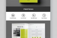 Professional Business Project Proposal Templates For throughout Business Proposal Indesign Template
