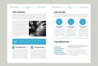 Professional Corporate Brochure Templates  Design  Graphic throughout Professional Brochure Design Templates