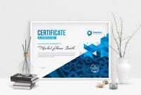 Professional Landscape Certificate Design Template   Template within Landscape Certificate Templates