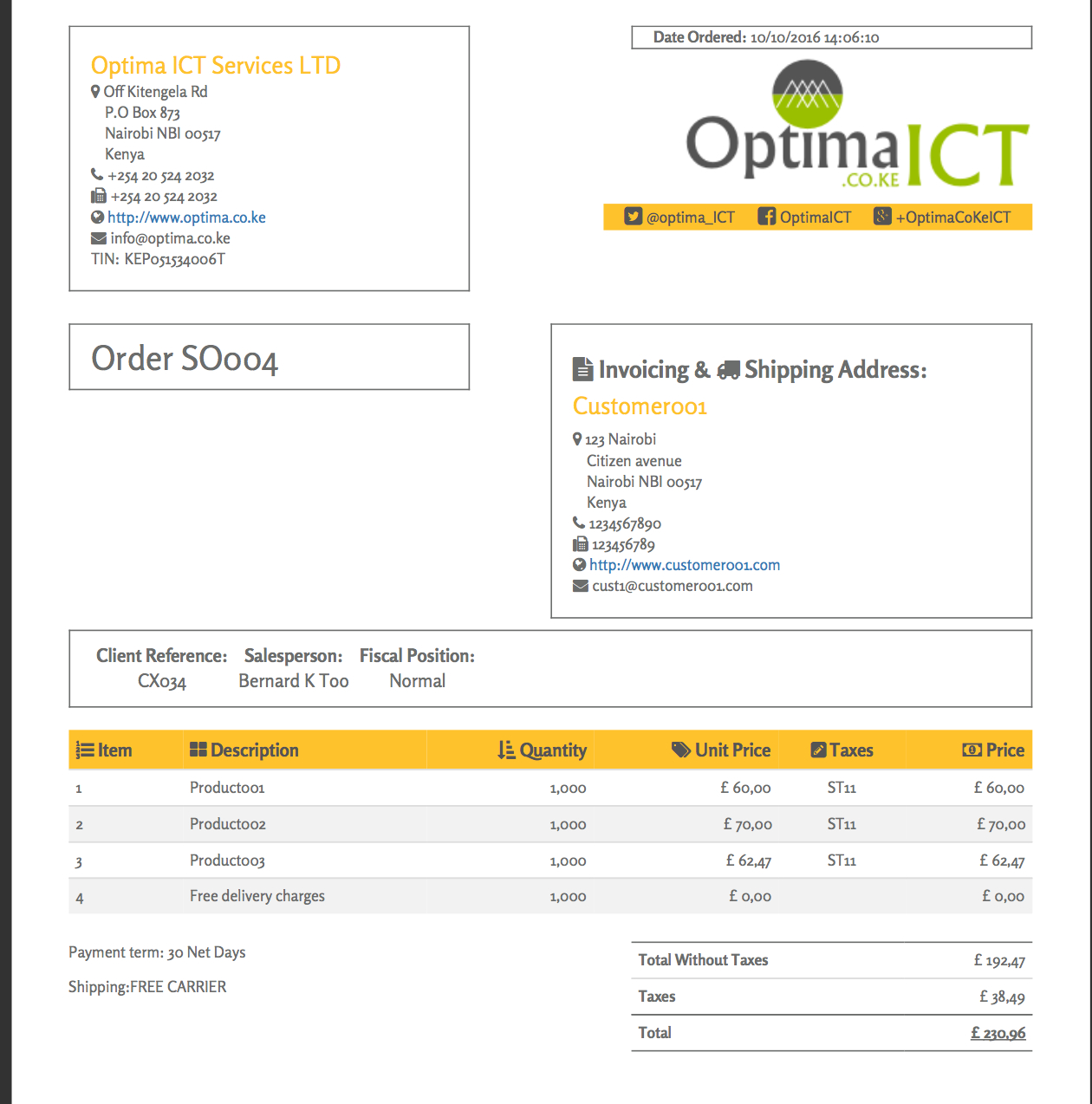 Professional Report Templates  Odoo Apps With Regard To Fleet Report Template