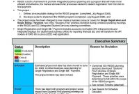Program T Reporting Templates Schedule Template Status Report Ppt for Monthly Program Report Template