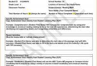 Progress Report Example  Meetpaulryan with Educational Progress Report Template