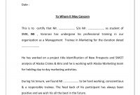 Project Completion Certificate Template  Cover Latter Sample in Leaving Certificate Template