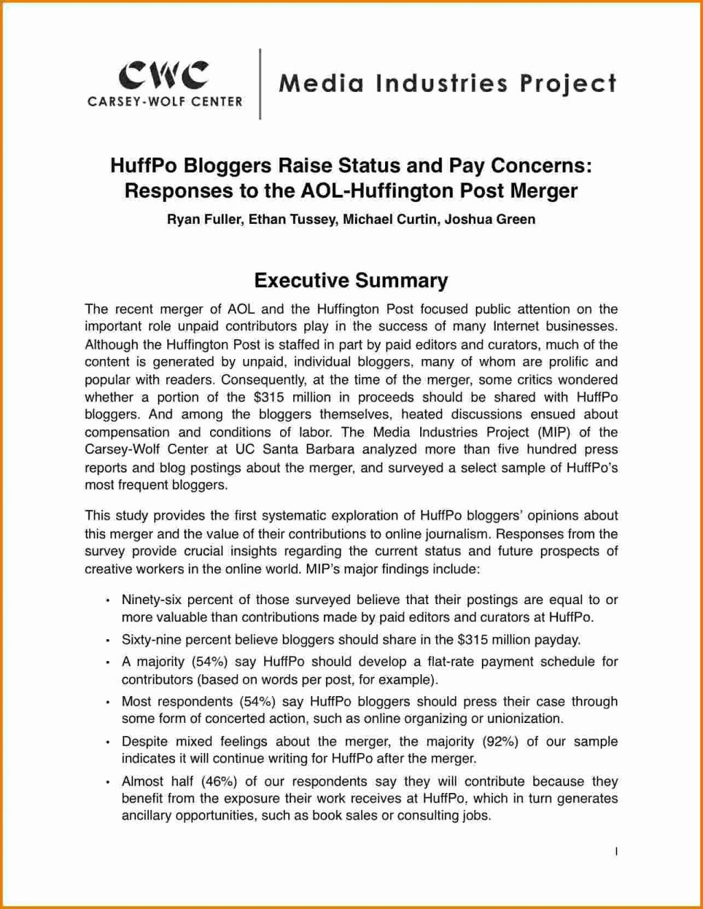 Project Executive Summary Report Template Status Example Pdf Sample Throughout Evaluation Summary Report Template