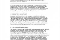 Project Management Agreement Template Contract Free Goal Co within Free Contract Manufacturing Agreements Templates