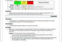 Project Management Status Report Template Progress Free  Smorad inside Monthly Status Report Template Project Management