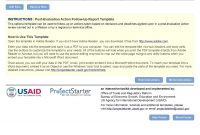 Project Management Toolkit Templates Agile Status Report Follow Up in Post Project Report Template