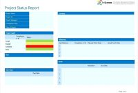 Project Management Weekly Status Report Ate Free Progress Example pertaining to Project Weekly Status Report Template Ppt