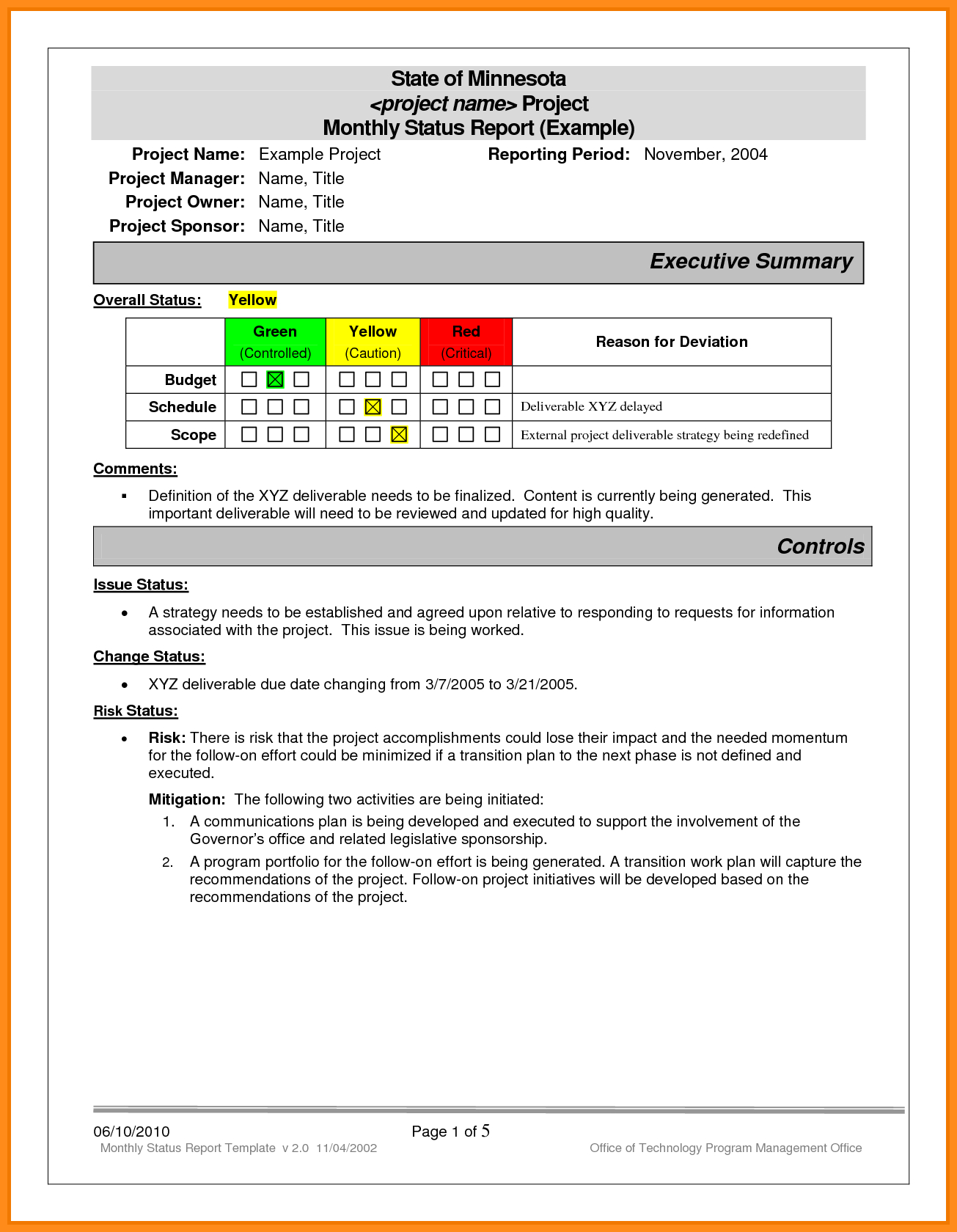 Project Progress Report Excel Status Ple Daily Template And Monthly Throughout Daily Project Status Report Template