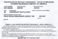Proof Of Auto Insurance Template Free  Template Business with Fake Car Insurance Card Template