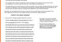 Property Settlement Agreement  Marital Settlements Information in Property Settlement Agreement Sample
