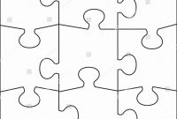 Puzzle Pieces Template For Word Fresh  Piece Jigsaw Puzzle Template with regard to Jigsaw Puzzle Template For Word