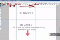 Pvc Id Card Printing Page Layout Template Forasd Epson L L regarding Pvc Card Template