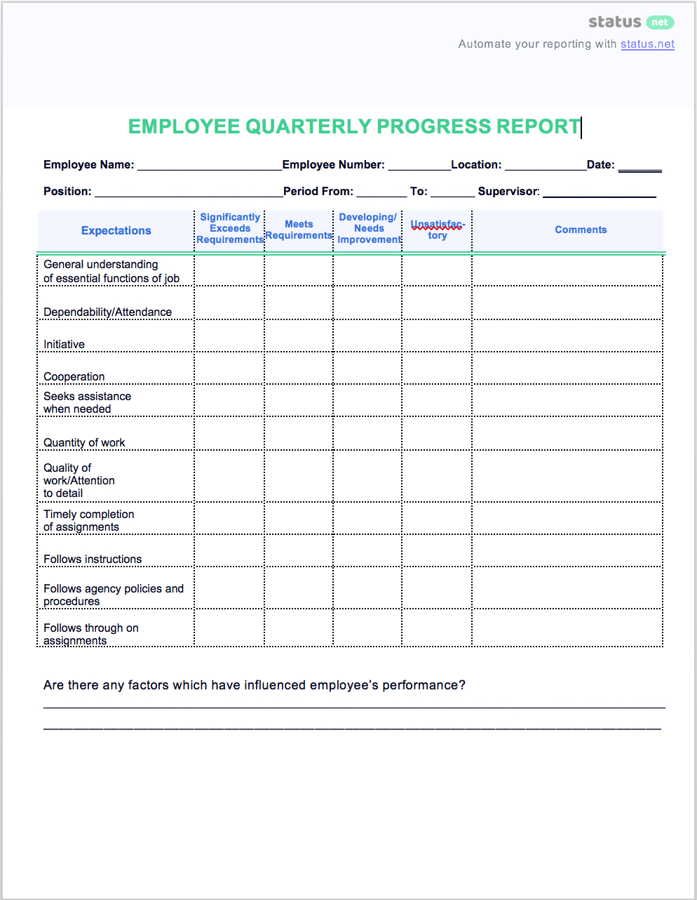 Quarterly Report Template Financial Excel For Small Business Sales Within Quarterly Report Template Small Business