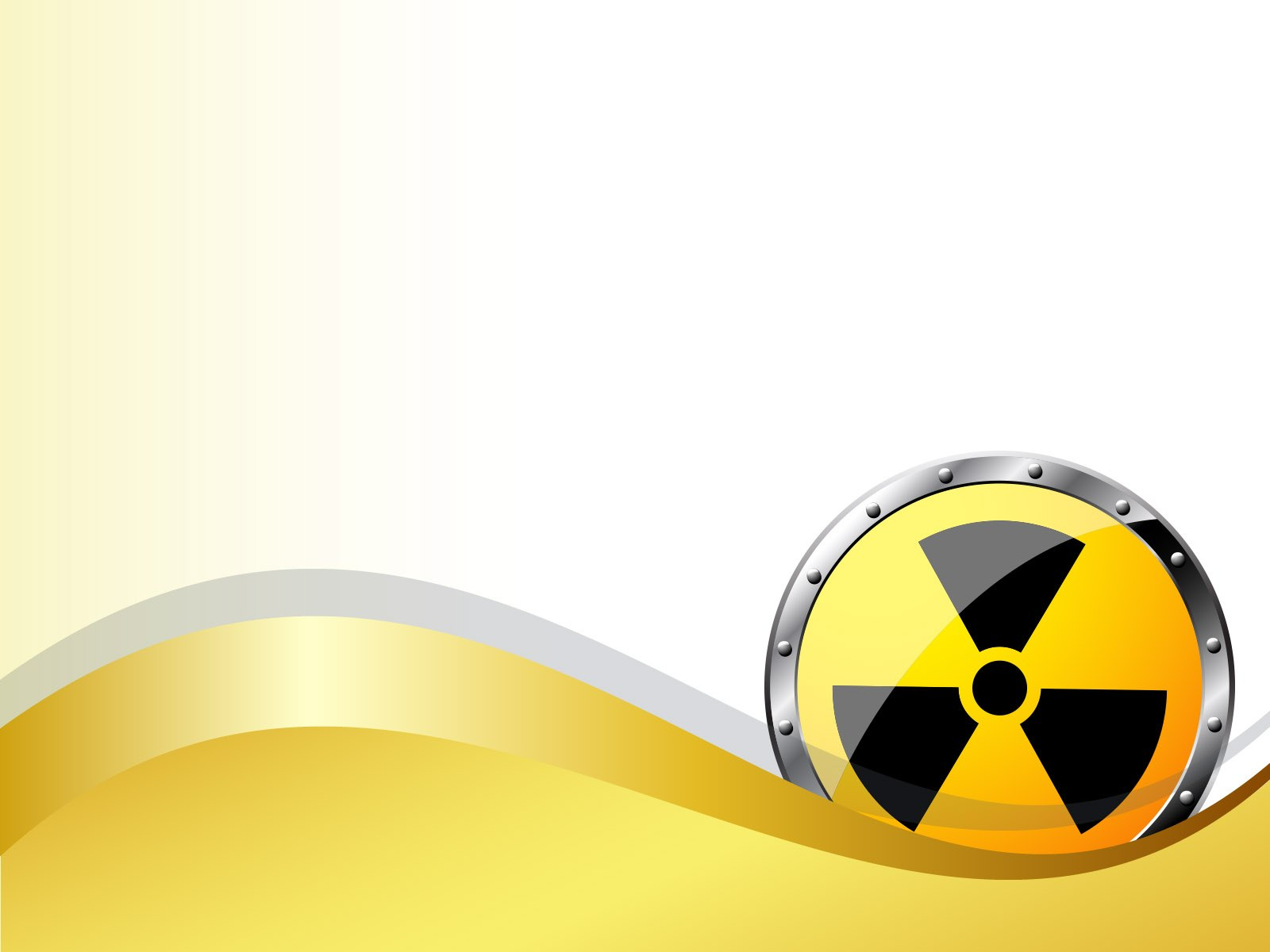 Radiation Radioactivity Powerpoint Templates  Business  Finance Within Nuclear Powerpoint Template