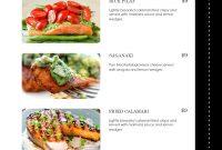 Rare Free Restaurant Menu Templates Template Ideas Download Mac For with Free Restaurant Menu Templates For Word