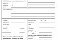 Rate Confirmation  Fill Online Printable Fillable Blank  Pdffiller in Load Confirmation And Rate Agreement Template